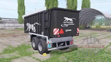 Fliegl ASW 271 Black Panther v1.3 para Farming Simulator 2017