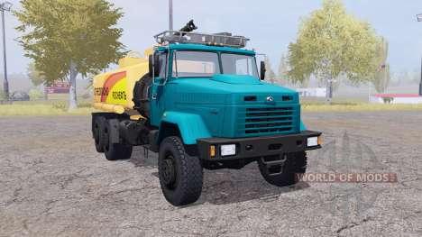 KrAZ 6322 Inflamável para Farming Simulator 2013