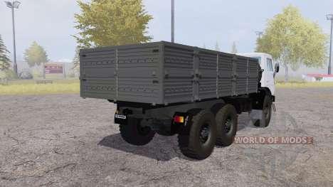 KamAZ 4310 v2.0 para Farming Simulator 2013