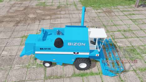 Bizon BS-5110 edit para Farming Simulator 2017