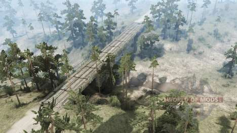 Into The Wild para Spintires MudRunner