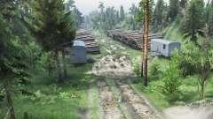 Viagem para o rio Olenka