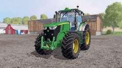 A John Deere 7200R para Farming Simulator 2015