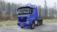 Mercedes-Benz Actros 4163 SLT (MP4) 8x8 para MudRunner