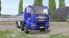 MAN TGS 35.440 8x8 Meiller 2012 para Farming Simulator 2017