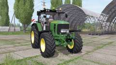 John Deere 7430 Premium more realistic v1.1 para Farming Simulator 2017