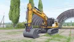 Liebherr R 936 Litronic para Farming Simulator 2017