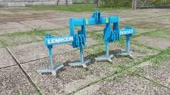 LEMKEN Dolomit 9-300 plow v2.2 para Farming Simulator 2017