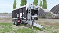 Fliegl ASW 271 Black Panther v1.3 para Farming Simulator 2017