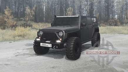 Jeep Wrangler Unlimited Rubicon (JK) off-road para MudRunner