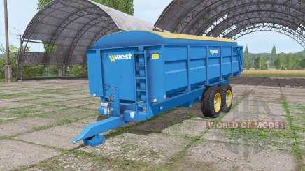 Harry West 12t grain v1.1.1 para Farming Simulator 2017