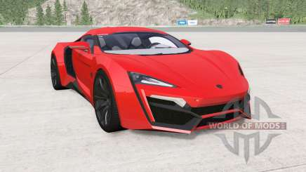 W Motors Lykan HyperSport 2014 para BeamNG Drive