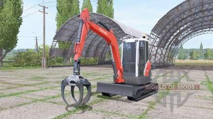 Kubota KX71-3 v2.0 para Farming Simulator 2017