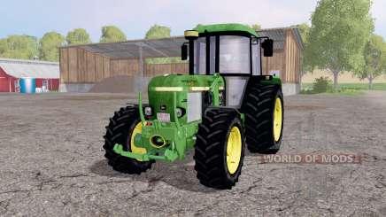 John Deere 3650 front loader para Farming Simulator 2015