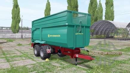 Grabmeier Muldenkipper v3.0 para Farming Simulator 2017