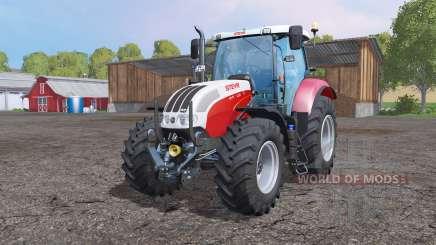 Steyr 6130 CVT EcoTech para Farming Simulator 2015