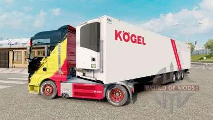 Trailer Kogel Cool para Euro Truck Simulator 2