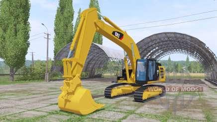 Caterpillar 329E v1.2 para Farming Simulator 2017