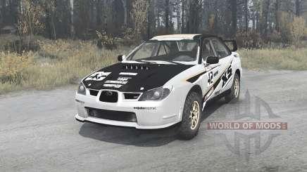 Subaru Impreza WRX STi (GDB) 2007 Rally para MudRunner