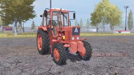 MTZ 82 exportação para Farming Simulator 2013
