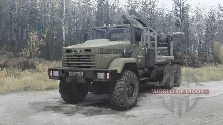 KrAZ-64372 v3.2 para MudRunner