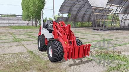 Weidemann 1770 CX 50 v1.1 para Farming Simulator 2017