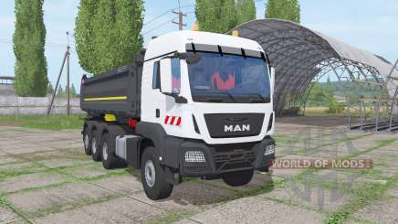 MAN TGS 35.500 8x8 BL Meiller 2016 para Farming Simulator 2017