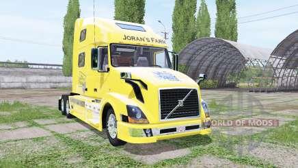 Volvo VNL 780 JoranS Farm para Farming Simulator 2017