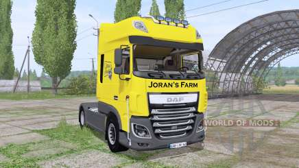DAF XF 510 FT Super Space Cab 2013 para Farming Simulator 2017