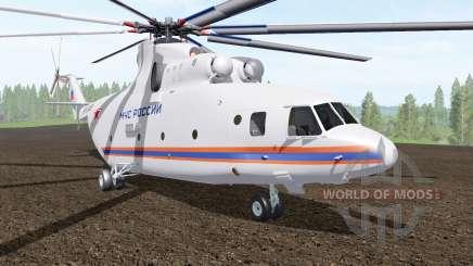 Mi-26T do Ministério de situações de emergência da Rússia para Farming Simulator 2017