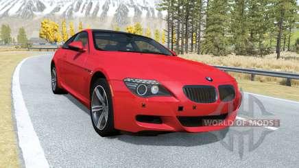 BMW M6 Coupe (E63) 2010 para BeamNG Drive