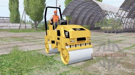 Caterpillar CB32 para Farming Simulator 2017