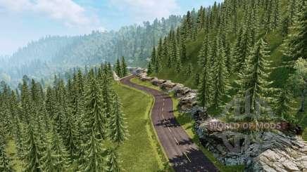 Paisagens da América do Sul v2.1 para Euro Truck Simulator 2