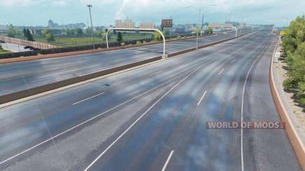 Superior de chuva para American Truck Simulator