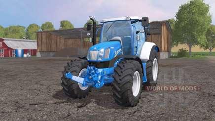 A New Holland Т6.160 para Farming Simulator 2015