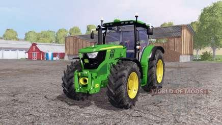 John Deere 6170R front loader para Farming Simulator 2015