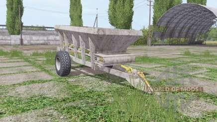 UNIA RCW 3000 v2.0 para Farming Simulator 2017