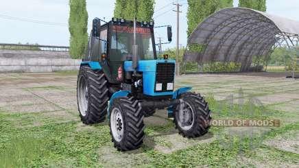 MTZ Bielorrússia 82.1 v1.2 por XXXni para Farming Simulator 2017