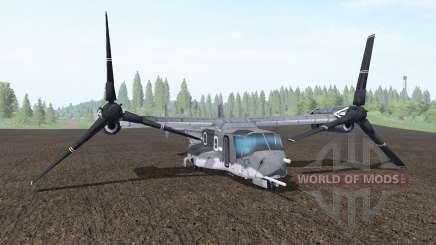 Bell V-22 Osprey para Farming Simulator 2017