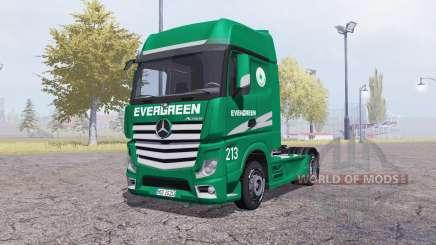Mercedes-Benz Actros (MP4) Evergreen para Farming Simulator 2013