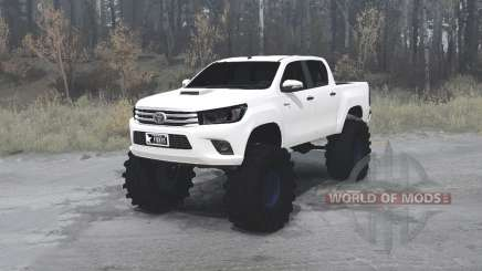 Toyota Hilux Double Cab 2016 para MudRunner