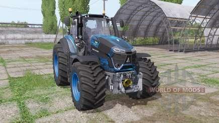 Deutz-Fahr Agrotron 9340 TTV blau design para Farming Simulator 2017