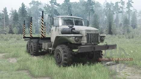 Ural 375Д alongada quadro para Spintires MudRunner