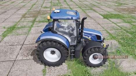 A New Holland Т6.160 para Farming Simulator 2017