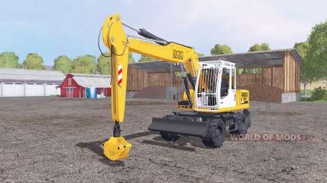 Liebherr A 900 Compact Litronic para Farming Simulator 2015