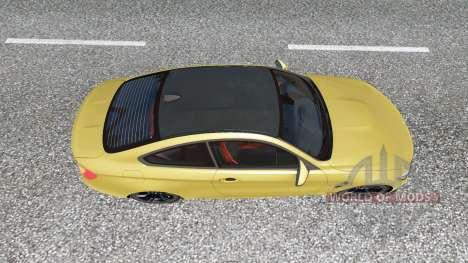 BMW M4 coupe (F82) v2.0 para Euro Truck Simulator 2