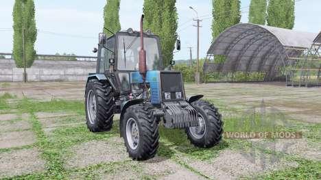 Bielorrússia MTZ 1025 azul para Farming Simulator 2017