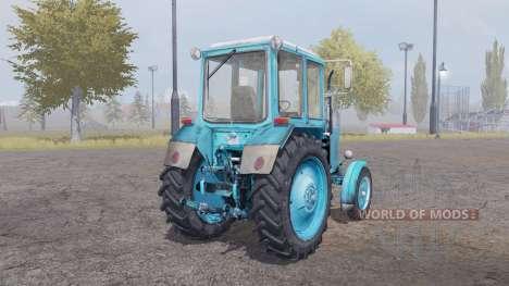 MTZ-80 azul para Farming Simulator 2013