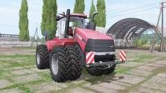 Case IH Steiger 370 twin wheels para Farming Simulator 2017