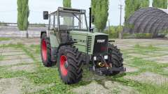 Fendt Farmer 312 LSA Turbomatik loader mounting para Farming Simulator 2017